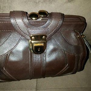 BCBG Handbags - NWT. BCBGENERATION Brown leather satchel