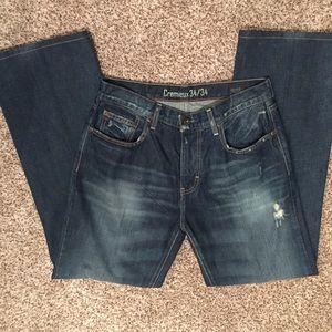 Daniel Cremieux Other - Men's Cremieux Bootcut Jeans 34x34