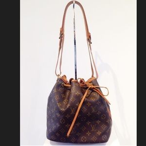 Handbags - Louis Vuitton petite noe bucket shoulder bag