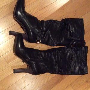 MaxMara Shoes - Max Mara leather knee high gorgeous boots!!!