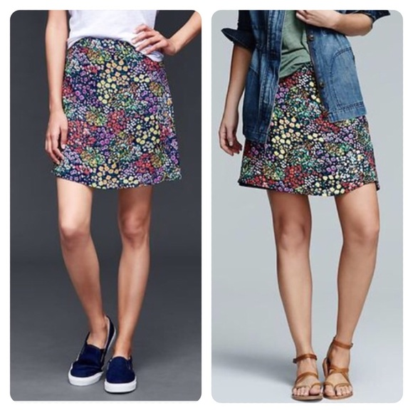 GAP Dresses & Skirts - NWT 2016 GAP garden floral floppy skirt