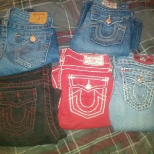 Youth boys true religion jeans sz