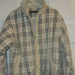 Boys youth Burberry jacket lined
