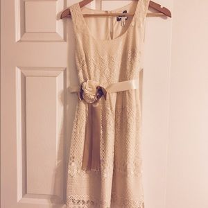 Nordstrom Dresses & Skirts - NORDSTROM Way In Vintage Cream Lace Dress