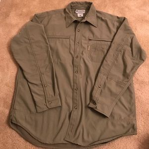 Columbia Other - Columbia Men's Fleece lined over shirt NWOT