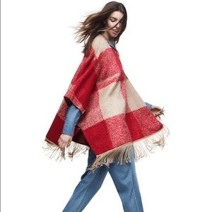 adam Lippes for Target Jackets & Blazers - Poncho with fringe by Adam Lippes for Target