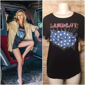 Denim & Supply Ralph Lauren Tops - Denim Supply RL Land I Love Patriotic Shirt