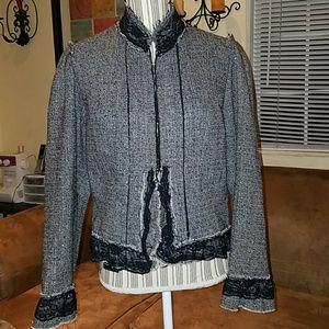 Zoe Ltd Jackets & Blazers - Beautiful lace Sz L