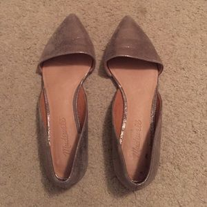 Madewell D'Orsay Pewter Flats