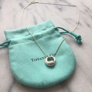 Tiffany & Co. Jewelry - Authentic Tiffany & Co. Eternal Circle Pendant