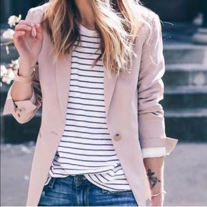 wear in la Tops - $18 Striped tee shirt black white short slev basic