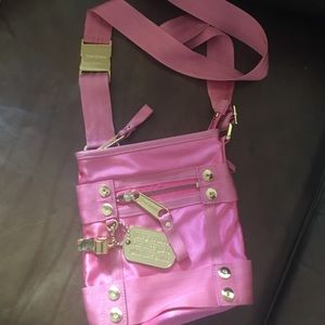 Juicy couture Hot Pink Cross Body Bag !!