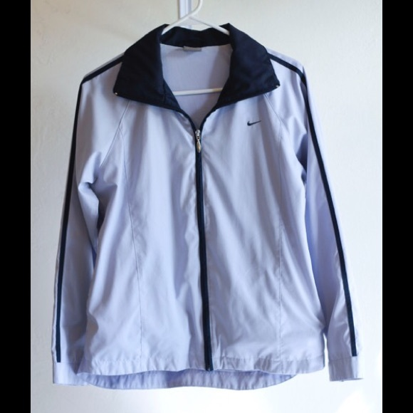 8085c5b260 Nike Lined Windbreaker Jacket Light Navy Blue. M 5813812256b2d6315b008c60