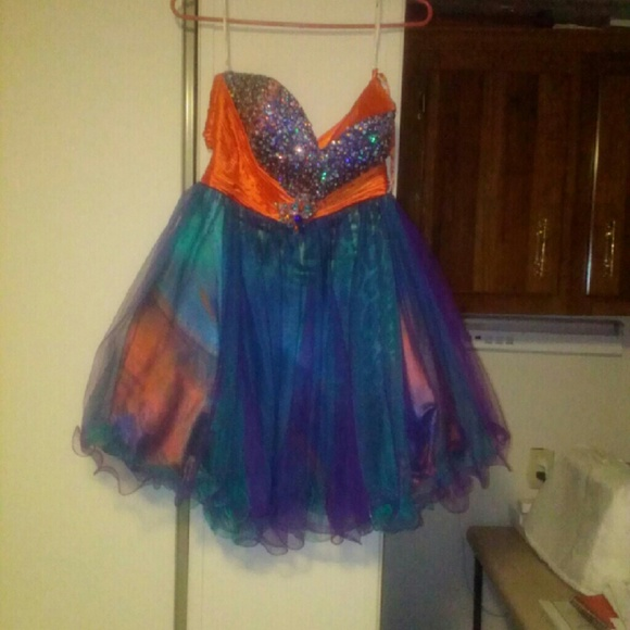 Auburn Prom Dress