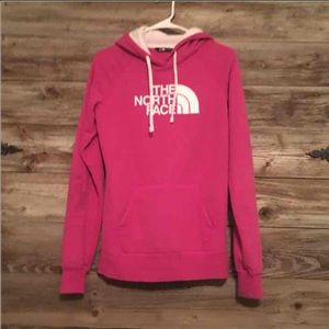 The North Face pink Hoodie