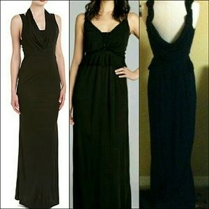 ABS Allen Schwartz Dresses & Skirts - NWT PROM TIME black gown gorgeous cut back A.B.S
