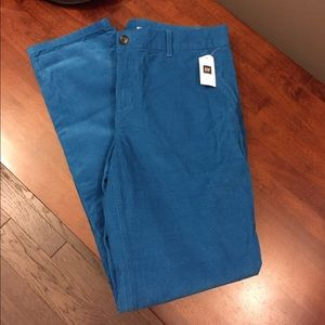  GAP Blue Broken In Straight Ankle Khakis NWT 4