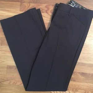 Chocolate brown Detailed pants