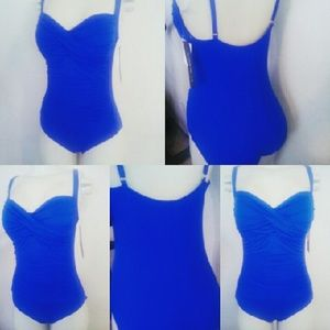 SOLD OUT La blanca swimsuit one piece sz 12.