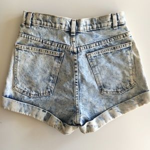 American Apparel Shorts - American Apparel Highwaisted Denim Short