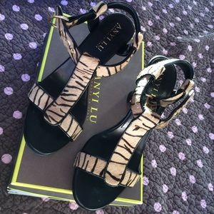 Anyi Lu Shoes - Anyi Lu tiger haircalf