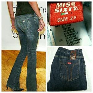Miss Sixty Denim - Miss Sixty Low Rise Bootcut Jeans sz 29
