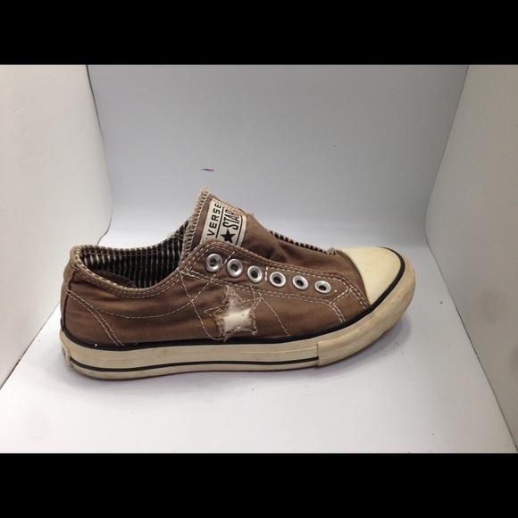 Converse Shoes - Women s Converse One Star Brown laceless sneaker 3d0e4088c