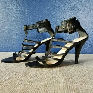 NWOT NINE WEST. Totally Hot, Strappy Heels