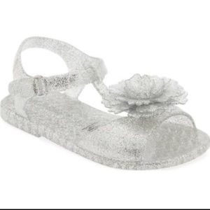 Old Navy Other - Flower Accent Jelly Sandals For Baby💥Final Price