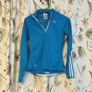 *SOLD* Adidas Blue Quarter Zip