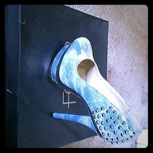Fever London Shoes - Fever Monica Demin Heels