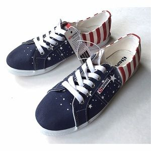 Superga Shoes - NEW Superga Fantasia flag shoes