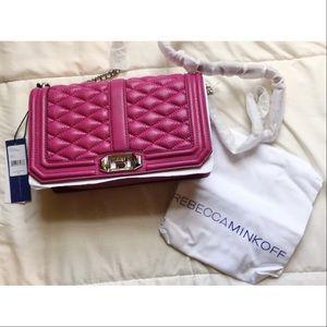 Rebecca Minkoff Handbags - MAKE AN OFFER🎀Rebecca Minkoff Love Crossbody🎀
