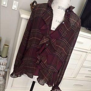 Stunning 2 piece blouse set