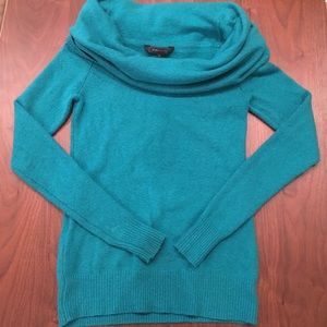 Luxurious exaggerated cowl neck sweater . Size XS.