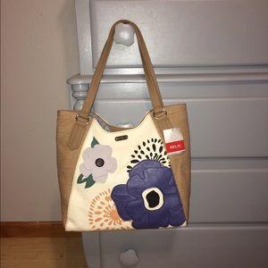 Relic Handbags - Adorable Relic Addy Flower Tote