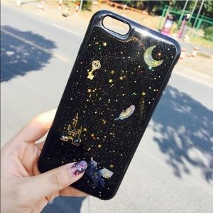 Accessories - 💘NEW💘 Galaxy and golden stars 🦄 iphone case🌎i7