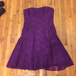 Aidan Mattox lace dress, size 6.