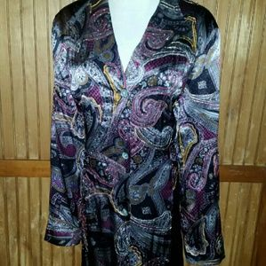 All Silk Paisley Jacket from Coldwater Creek