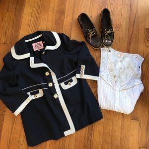 Juicy Couture Jackets & Blazers - ‼️Final Sale ‼️Juicy Couture Navy Jacket Sz M