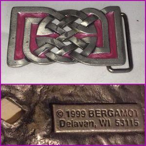 Belt buckle Bergamot fine art foundry  1999