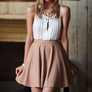 Anthropologie Dresses & Skirts - {anthropologie} astral swing skirt