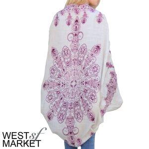 West Market SF Tops - -NEW ARRIVAL-🎉 The Gigi Kimono in Ivory
