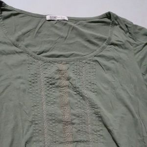 Olive old Navy top