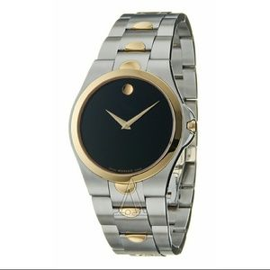 Movado  Other - NWT Movado Luno Mens two-tone watch