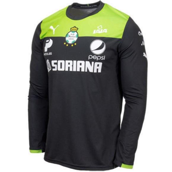 sale retailer 3174b b7dc3 PUMA Santos Laguna Goalkeeper Soccer Jersey NWT
