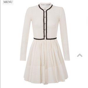 Goodnight Macaroon Dresses & Skirts - Parisian cotton lace eyelet white dress