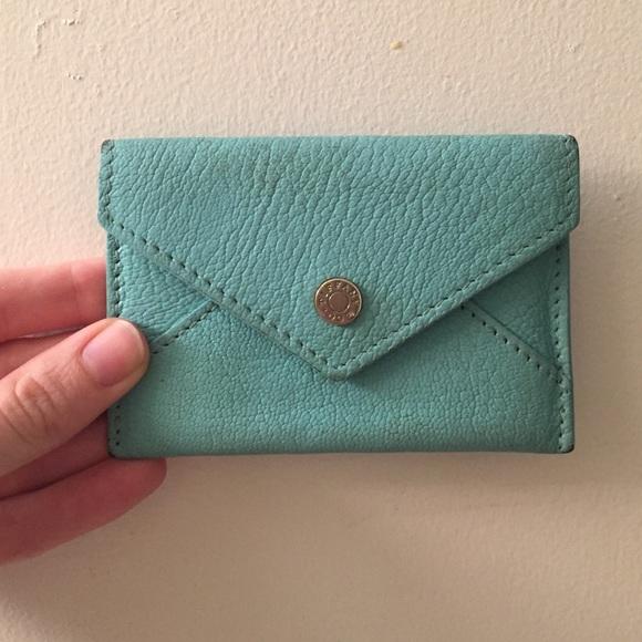 huge discount 49b6c 26fd3 Tiffany & Co Credit Card Holder Wallet Blue