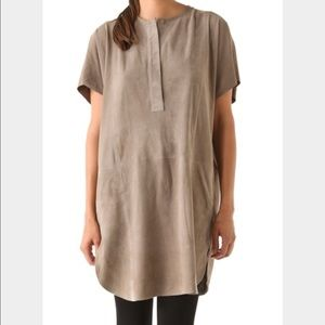 Vince Tunic Suede dress size XS