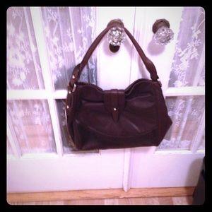 Perlina Handbags - Brown leather shoulder bag!